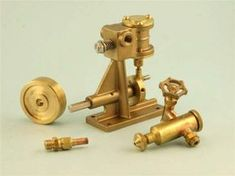 Miniature Steam Tyne Single Cylinder Oscillating Steam Engine Self Assembly Kit