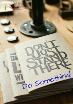 Don't Just Stand There....Do Something!  Stop Thinking About it, Take Action!   #Entrepreneurship #Entrepreneurlife #Entrepreneur #Entrpreneurs #StartUps #SmallBusiness #BecomeABusinessOwner #BeUnafraid #BeABoss #LiveYourPassion #Motivation #Network #Consulting #VelvetRopeExperience