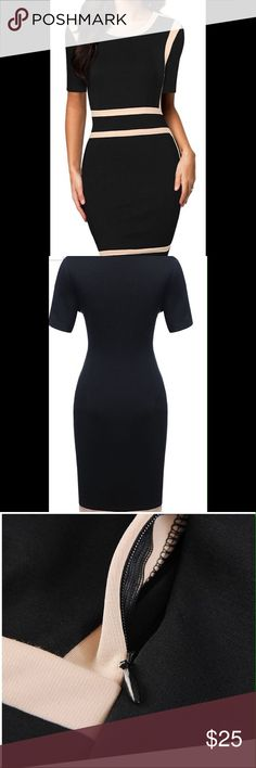 Miusol scoop neck optical illusion bodycon dress New with tags miusol Dresses