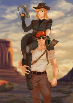 Bodyguard by Silva-Minstrel on DeviantArt Boone Fallout, Fallout Funny, Fallout New Vegas, Fallout Lore, Fallout Fan Art, Ncr Ranger, Fallout Cosplay, Cool Art, Awesome Art