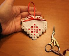 Finishing The Hardanger Ornaments - Part 2
