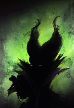 Maleficent - Possibly the scariest Disney villan ever.  Also, this is an awesome print