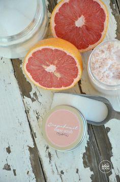DIY Grapefruit Sugar Scrub Recipe | theidearoom.net