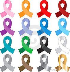 16 Awareness Ribbons Royalty Free Stock Photos - Image: 11305838