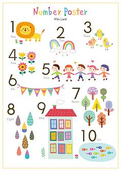 ti234 - 클립아트코리아 :: 통로이미지(주) Alphabet Activities, Preschool Worksheets, Preschool Activities, Diy And Crafts, Crafts For Kids, Alphabet Nursery, Kids Wall Decor, Kids Poster, Math Numbers