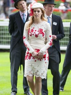 Princess Beatrice of York is the elder daughter of Prince Andrew and Sarah Ferguson, the Duke and Duchess of York. She is Queen Elizabeth's granddaughter, and 6th in the line of succession as well as the first female.
