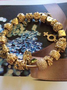Gold Pandora