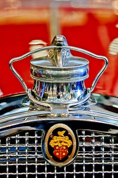 1929 Packard 8 Convertible Coupe Hood Ornament – Emblem