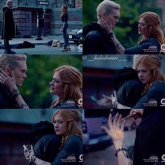 Image may contain: 8 people, text Clary E Jace, Clary Fray, Isabelle Lightwood, Malec, Grey's Anatomy, Freeform Tv Shows, Shadowhunters Season 3, Shadowhunters The Mortal Instruments, City Of Bones