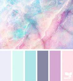 Bathroom colors schemes purple design seeds Ideas for 2019 Girls Bedroom Colors, Bedroom Paint Colors, Bathroom Colors, Bathroom Ideas, Bedroom Girls, Girl Rooms, Purple Bedrooms, Blue Purple Bedroom, Pastel Girls Room