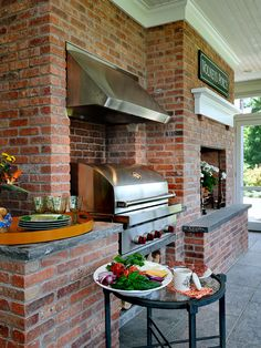 sunroom with outdoor kitchen :: Connecticut Estate :: view 1 of 3