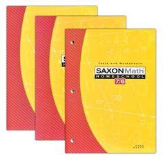 Saxon Math 76 Home Study Kit Fourth Edition