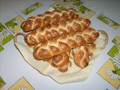 Slané pletienky • recept • bonvivani.sk Sausage, Food, Basket, Sausages, Essen, Meals, Yemek, Eten, Chinese Sausage