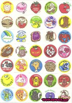 my favorite memory from childhood..collecting stickers with my friends