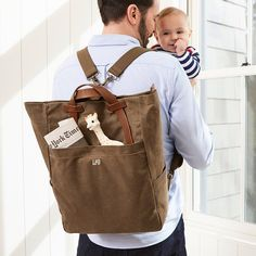 It's never too early to get dad something he'll love for Father's Day (June 18th!). Click the link in our bio to shop.  #babygifts