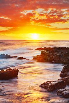 Kauai Sunset by narmansk8.deviantart.com on @deviantART