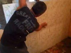 SEGREDO AZULEJAR PAREDE FORA DE PLUMO TORTA' SECRET tile WALL OUT OF BOB...