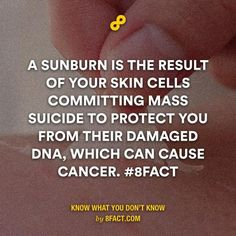 Thank you, my skin. Thank you. #8fact