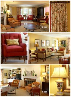 Sunny And Colorful Family Room Interior Design Greensboro Cary Chapel Hill Durham  North Carolina Interiors With