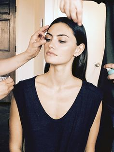 Exclusive: Getting Ready With Phoebe Tonkin via @ByrdieBeauty