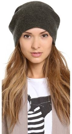 Bop Basics Cashmere Oversized Beanie Cashmere Beanie, Special People, What To Wear, Hats, Beanies, Army, Gift, Christmas, Accessories