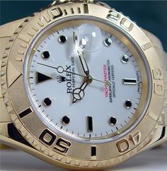 The gold Yachtmaster I with the white face - don't own it, but a step up from the Explorer II