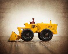 Vintage Toy Barford Shovel Tractor
