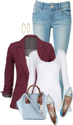 Metallic Leather Flat Spring Outfit