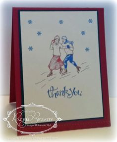 winter post, Stampin' Up!