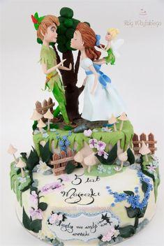 Peter Pan Tinkerbell Cake / Tort Piotruś Pan i Dzwoneczek - Cake by Edyta rogwojskiego.pl