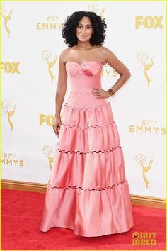 Anthony Anderson & Tracee Ellis Ross Bring 'Black-ish' to Emmy Awards 2015 | anthony anderson tracee ellis ross 2015 emmys 05 - Photo