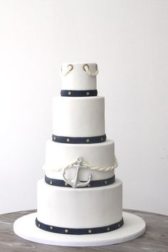 Wedding cake by Marangona | sailor style | www.marangona.hu