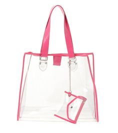 Such sunny weather and time to head to the beach! Shady spot under an umbrella, good book, amazingly cute beach bag, and another umbrella in your cool. Clear Beach Bag, Beach Bags, Plastic Beach, Clear Plastic Bags, Future Daughter, Fashion Beauty, Beauty Style, Summer Fun, Parenting
