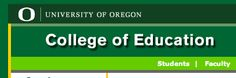 University of Oregon ::  Critical and Sociocultural Studies in Education (Ph.D)