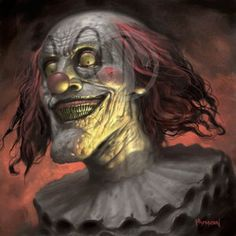 I really hate clowns. But I really only hate the cute ones. The scary ones don't bother me because they don't hide who they are. It's the cute clowns you have to watch out for