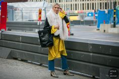 Stockholm Fall 2017 Street Style: Between shows