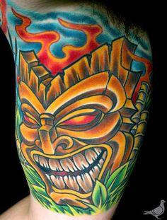 Image detail for -Paradise Tattoo Gathering : Tattoos : Durb : Tiki God