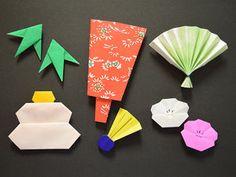 [Origami] [január], mint például újévi dekoráció, kadomatsu Crane, Poti táskák pálcika táska összecsukható együtt - Naver Összefoglaló Mobil Origami, Origami Mobile, Origami Owl, New Year's Crafts, Diy And Crafts, Paper Crafts, Japanese Celebrations, Origami Christmas Star, Asian New Year