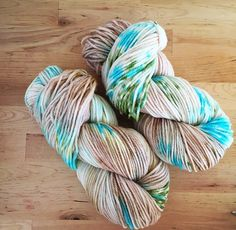 A personal favorite from my Etsy shop https://www.etsy.com/listing/476916407/hand-dyed-yarn-superwash-super-soft