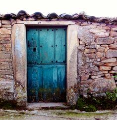 puerta / door / porta  el villar de peralonso, salamanca, españa