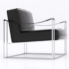 Modern armchair | by zifir3d.