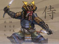 Bushido samurai art