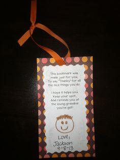 Teachin' Little Texans: Grandparents' Day Bookmark Gift funny grandparents, first time grandparents gift, crafts from kids to grandparents Grandparents Day Preschool, Grandparents Day Cards, National Grandparents Day, Mothers Day Crafts For Kids, Fathers Day Crafts, Gift Crafts, Holiday Crafts, Quotes Girlfriend, Jackson