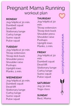 www.brunetteponytail.com Follow me for more tips on a healthy pregnancy! <3