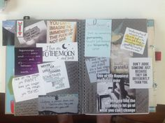 Quotes in my smash journal