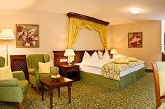 Junior Suite - Grandhotel Lienz $320 Decor, Suite, Luxury, Bed, Furniture, Hotel, Home Decor, Room