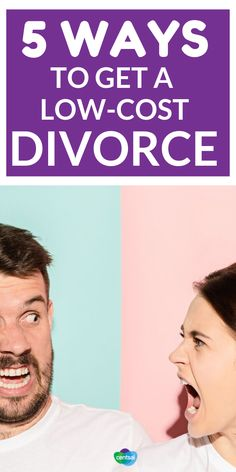 5 Ways to Lower the Cost of Divorce. The cost of divorce is often high, but it doesn't have to be. Check out these advice and tips how to have a low-cost divorce options that make the process more affordable! Cheap Divorce, Cost Of Divorce, Preparing For Divorce, Free Divorce, Easy Divorce, Petition For Divorce, Divorce Process, Getting Divorced, Financial Literacy