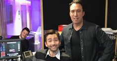 David Tennant turned radio host again this morning when he joined Christian O'Connell, Richie Firth and the gang to present this morning'...