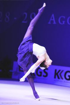 Alina Maksymenko rhythmic gymnastics