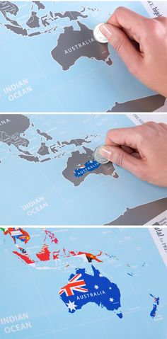World Map With Scratch Off ORIGINAL From Manufacturer Awesome - Scratch world map us manaufacturuer